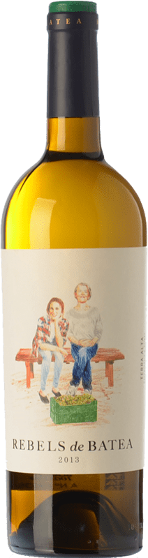 9,95 € Free Shipping | White wine 7 Magnífics Rebels de Batea Blanc Crianza D.O. Terra Alta Catalonia Spain Grenache White Bottle 75 cl