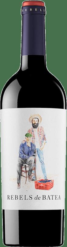 9,95 € Envío gratis | Vino tinto 7 Magnífics Rebels de Batea Negre Joven D.O. Terra Alta Cataluña España Garnacha Botella 75 cl