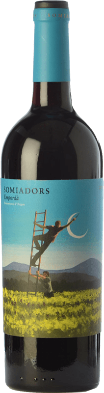 16,95 € Free Shipping | Red wine 7 Magnífics Somiadors Joven D.O. Empordà Catalonia Spain Grenache, Carignan Bottle 75 cl