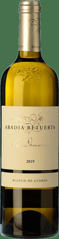 33,95 € 免费送货 | 白酒 Abadía Retuerta Le Domaine Crianza I.G.P. Vino de la Tierra de Castilla y León 卡斯蒂利亚莱昂 西班牙 Verdejo, Sauvignon White 瓶子 75 cl