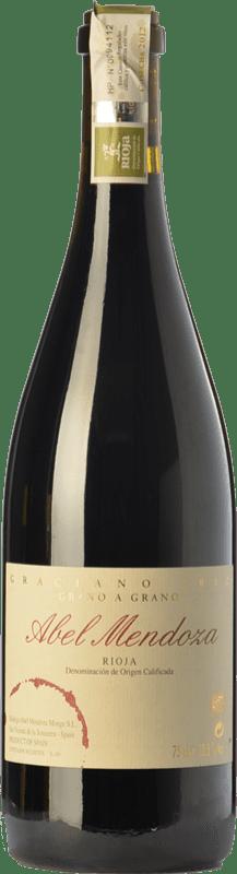 54,95 € Free Shipping | Red wine Abel Mendoza Grano a Grano Crianza D.O.Ca. Rioja The Rioja Spain Graciano Bottle 75 cl