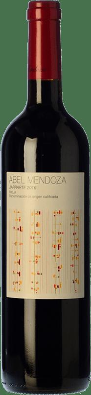 23,95 € Envoi gratuit | Vin rouge Abel Mendoza Jarrarte Crianza D.O.Ca. Rioja La Rioja Espagne Tempranillo Bouteille 75 cl