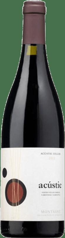 33,95 € Envío gratis | Vino tinto Acústic Crianza D.O. Montsant Cataluña España Garnacha, Samsó Botella Mágnum 1,5 L