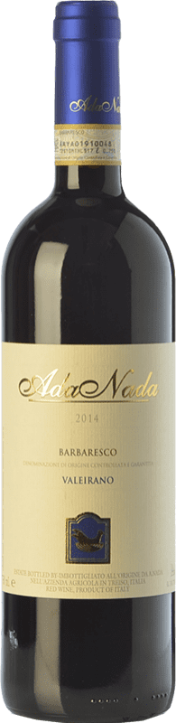 33,95 € Free Shipping | Red wine Ada Nada Valeirano D.O.C.G. Barbaresco Piemonte Italy Nebbiolo Bottle 75 cl
