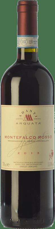 15,95 € | Red wine Adanti Rosso D.O.C. Montefalco Umbria Italy Merlot, Cabernet Sauvignon, Sangiovese, Barbera, Sagrantino Bottle 75 cl
