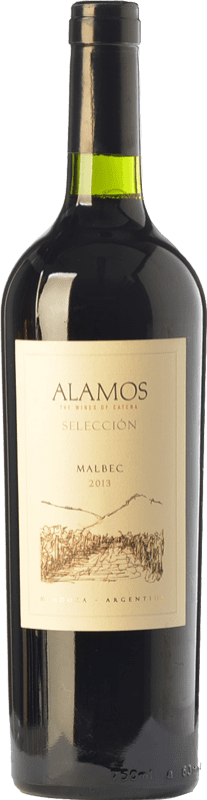 9,95 € Free Shipping | Red wine Alamos Selección Crianza I.G. Mendoza Mendoza Argentina Malbec Bottle 75 cl