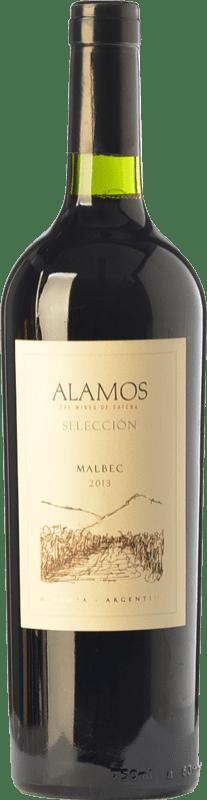 9,95 € Envío gratis | Vino tinto Alamos Selección Crianza I.G. Mendoza Mendoza Argentina Malbec Botella 75 cl