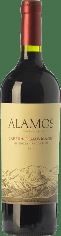 11,95 € Envío gratis | Vino tinto Alamos Joven I.G. Mendoza Mendoza Argentina Cabernet Sauvignon Botella 75 cl