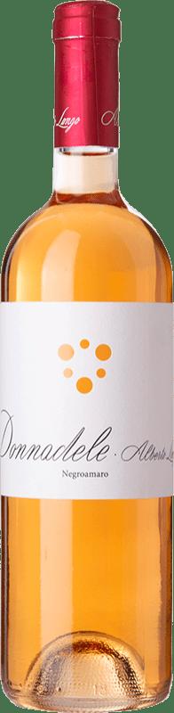 13,95 € Free Shipping | Rosé wine Alberto Longo Donnadele I.G.T. Puglia Puglia Italy Negroamaro Bottle 75 cl