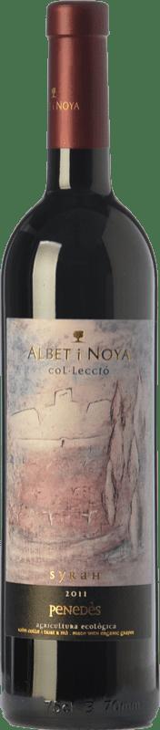 19,95 € Envío gratis | Vino tinto Albet i Noya Col·lecció Crianza D.O. Penedès Cataluña España Syrah Botella 75 cl