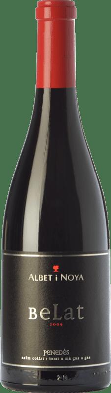 77,95 € Envío gratis | Vino tinto Albet i Noya Crianza D.O. Penedès Cataluña España Belat Botella 75 cl