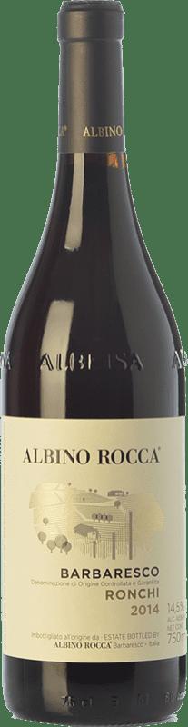 44,95 € | Red wine Albino Rocca Ronchi D.O.C.G. Barbaresco Piemonte Italy Nebbiolo Bottle 75 cl