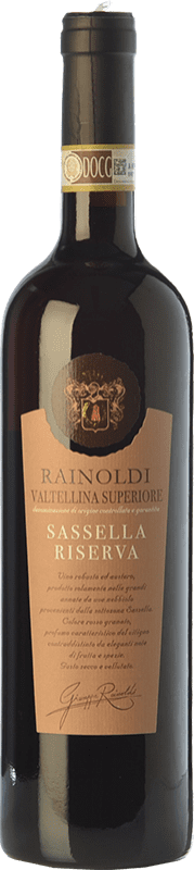 35,95 € Free Shipping | Red wine Rainoldi Sassella Riserva Reserva D.O.C.G. Valtellina Superiore Lombardia Italy Nebbiolo Bottle 75 cl