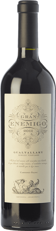 114,95 € Free Shipping | Red wine Aleanna Gran Enemigo Gualtallary Single Vineyard Joven I.G. Mendoza Mendoza Argentina Cabernet Franc, Malbec Bottle 75 cl