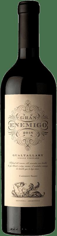 435,95 € Envío gratis | Vino tinto Aleanna Gran Enemigo Gualtallary Single Vineyard Joven I.G. Mendoza Mendoza Argentina Cabernet Franc, Malbec Botella 75 cl