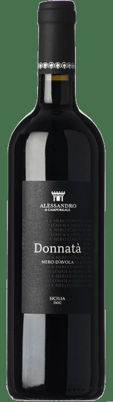 12,95 € | Red wine Alessandro di Camporeale Donnatà I.G.T. Terre Siciliane Sicily Italy Nero d'Avola Bottle 75 cl