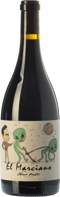 15,95 € Free Shipping | Red wine Maestro Tejero El Marciano Joven I.G.P. Vino de la Tierra de Castilla y León Castilla y León Spain Grenache Bottle 75 cl