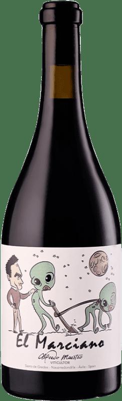 15,95 € Envoi gratuit | Vin rouge Maestro Tejero El Marciano Joven I.G.P. Vino de la Tierra de Castilla y León Castille et Leon Espagne Grenache Bouteille 75 cl
