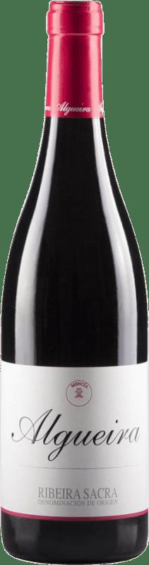 11,95 € Free Shipping | Red wine Algueira Joven D.O. Ribeira Sacra Galicia Spain Mencía Bottle 75 cl