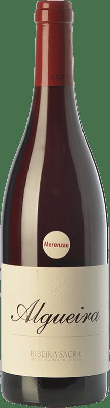 41,95 € | Red wine Algueira Crianza D.O. Ribeira Sacra Galicia Spain Merenzao Bottle 75 cl