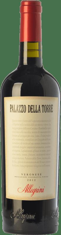 19,95 € Envío gratis | Vino tinto Allegrini Palazzo della Torre I.G.T. Veronese Veneto Italia Sangiovese, Corvina, Rondinella Botella 75 cl
