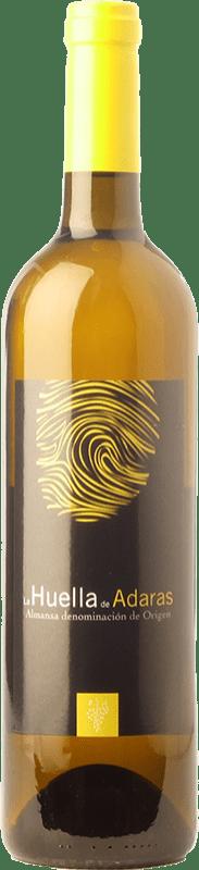 7,95 € | White wine Almanseñas La Huella de Adaras D.O. Almansa Castilla la Mancha Spain Monastrell, Verdejo, Sauvignon White Bottle 75 cl
