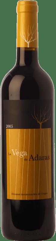 11,95 € | Red wine Almanseñas La Vega de Adaras Crianza D.O. Almansa Castilla la Mancha Spain Grenache, Monastrell Bottle 75 cl