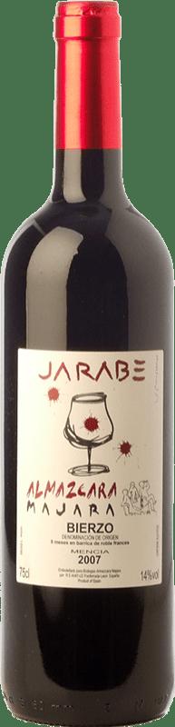 19,95 € | Red wine Almázcara Majara Jarabe Crianza D.O. Bierzo Castilla y León Spain Mencía, Prieto Picudo Bottle 75 cl