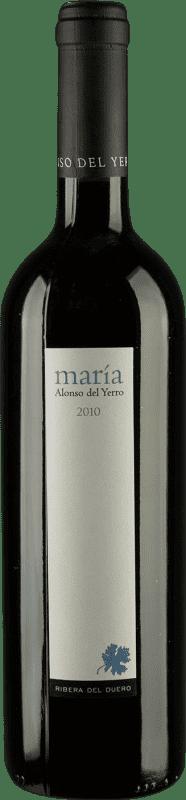 51,95 € 免费送货 | 红酒 Alonso del Yerro María Crianza D.O. Ribera del Duero 卡斯蒂利亚莱昂 西班牙 Tempranillo 瓶子 75 cl