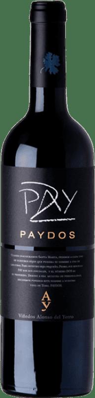 39,95 € 免费送货 | 红酒 Alonso del Yerro Paydos Crianza D.O. Toro 卡斯蒂利亚莱昂 西班牙 Tinta de Toro 瓶子 75 cl