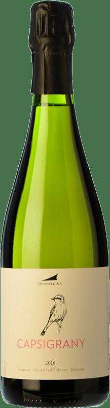 26,95 € 免费送货 | 白起泡酒 Alta Alella AA Capsigrany Natural Brut Nature D.O. Cava 加泰罗尼亚 西班牙 Pansa Rosé 瓶子 75 cl