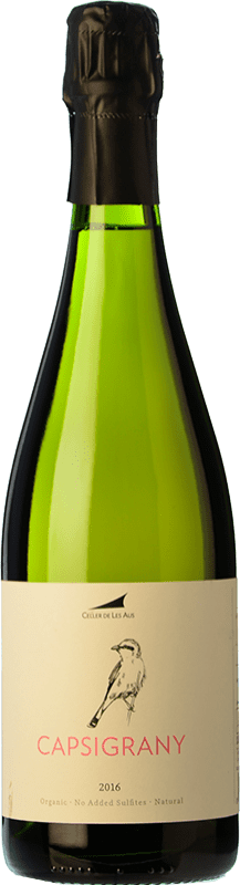26,95 € | White sparkling Alta Alella AA Capsigrany Natural Brut Nature D.O. Cava Catalonia Spain Pansa Rosé Bottle 75 cl