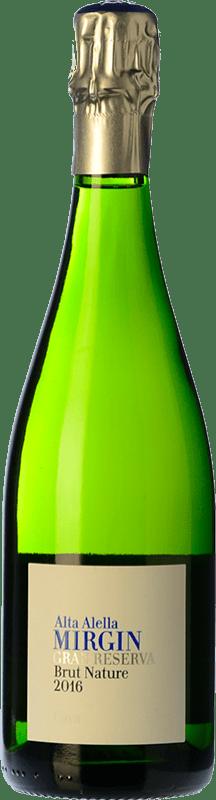 14,95 € 免费送货 | 白起泡酒 Alta Alella AA Mirgin Brut Nature Reserva D.O. Cava 加泰罗尼亚 西班牙 Macabeo, Xarel·lo, Parellada 瓶子 75 cl