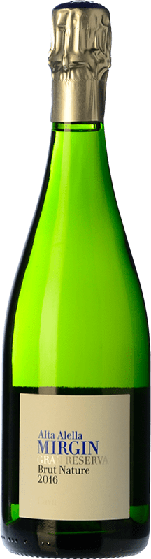 14,95 € | White sparkling Alta Alella AA Mirgin Brut Nature Reserva D.O. Cava Catalonia Spain Macabeo, Xarel·lo, Parellada Bottle 75 cl