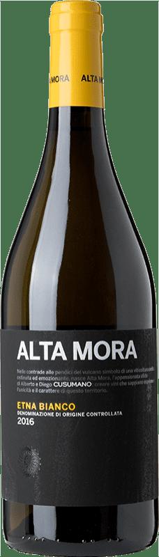22,95 € | White wine Alta Mora Bianco D.O.C. Etna Sicily Italy Carricante Bottle 75 cl
