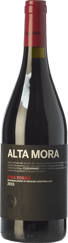 19,95 € | Red wine Alta Mora Rosso D.O.C. Etna Sicily Italy Nerello Mascalese Bottle 75 cl