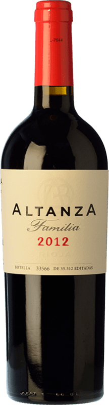 17,95 € | Red wine Altanza Lealtanza Selección Familiar Reserva D.O.Ca. Rioja The Rioja Spain Tempranillo Bottle 75 cl