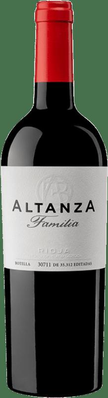 22,95 € Envoi gratuit | Vin rouge Altanza Lealtanza Selección Familiar Reserva D.O.Ca. Rioja La Rioja Espagne Tempranillo Bouteille 75 cl