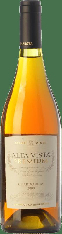 17,95 € Envoi gratuit | Vin blanc Altavista Premium I.G. Mendoza Mendoza Argentine Chardonnay Bouteille 75 cl