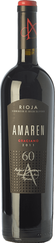 63,95 € | Red wine Amaren Reserva D.O.Ca. Rioja The Rioja Spain Graciano Bottle 75 cl
