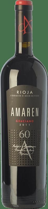 63,95 € Envío gratis | Vino tinto Amaren Reserva D.O.Ca. Rioja La Rioja España Graciano Botella 75 cl
