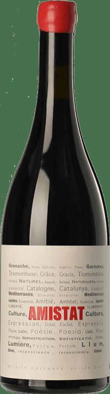 31,95 € | Red wine Amistat Negre Crianza A.O.C. Côtes du Roussillon Languedoc-Roussillon France Grenache Bottle 75 cl