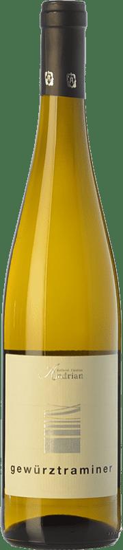 15,95 € Free Shipping | White wine Andriano D.O.C. Alto Adige Trentino-Alto Adige Italy Gewürztraminer Bottle 75 cl