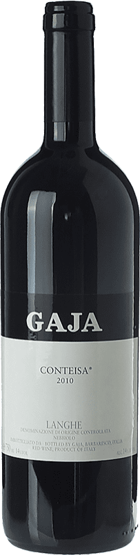 291,95 € Free Shipping | Red wine Gaja Conteisa D.O.C. Langhe Piemonte Italy Nebbiolo, Barbera Bottle 75 cl