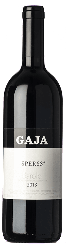 328,95 € Free Shipping | Red wine Gaja Sperss D.O.C. Langhe Piemonte Italy Nebbiolo, Barbera Bottle 75 cl