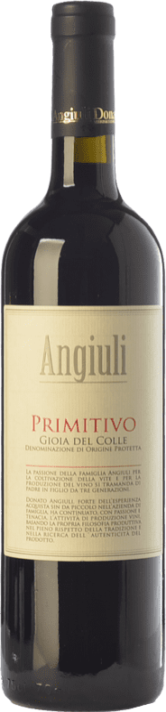9,95 € 免费送货 | 红酒 Angiuli I.G.T. Puglia 普利亚大区 意大利 Primitivo 瓶子 75 cl