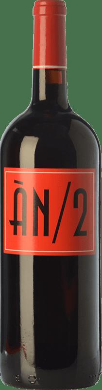 16,95 € Free Shipping | Red wine Ànima Negra ÀN/2 Crianza I.G.P. Vi de la Terra de Mallorca Balearic Islands Spain Cabernet Sauvignon, Callet, Fogoneu Magnum Bottle 1,5 L