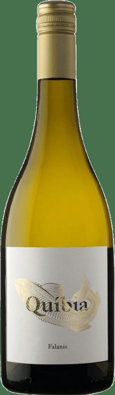 16,95 € Envío gratis | Vino blanco Ànima Negra Quíbia I.G.P. Vi de la Terra de Illes Balears Islas Baleares España Callet, Pensal Blanca Botella 75 cl