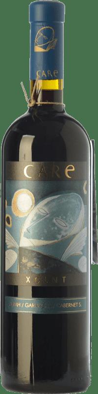 29,95 € Free Shipping | Red wine Añadas Care XCLNT Crianza D.O. Cariñena Aragon Spain Syrah, Grenache, Cabernet Sauvignon Bottle 75 cl