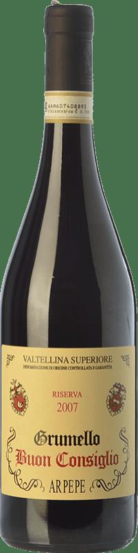 87,95 € Free Shipping | Red wine Ar.Pe.Pe. Grumello Riserva Buon Consiglio Reserva 2009 D.O.C.G. Valtellina Superiore Lombardia Italy Nebbiolo Bottle 75 cl